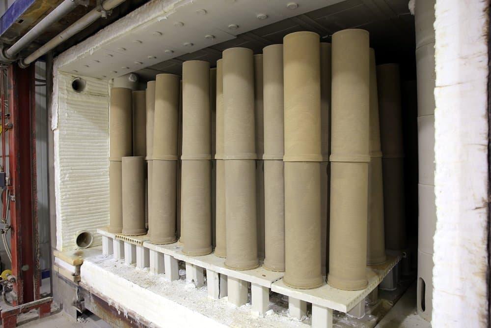Inne rodzaje Ceramiczne wkłady kominowe XF05